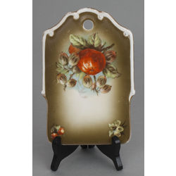 Фарфоровая подставка 'Цветы'