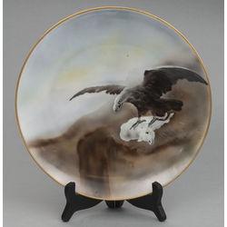 Porcelāna sienas šķīvis