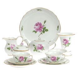 Porcelāna tējas-kafijas servīze 2 personām