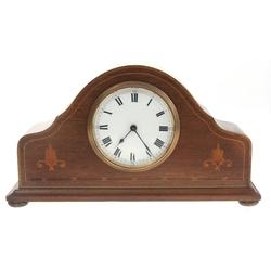 Koka kamīna pulkstenis