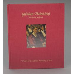 Grāmata 'Latvian painting'