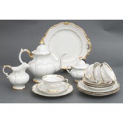 Porcelāna kafijas-tējas servīze 4 personām