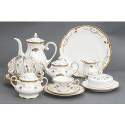 Porcelāna tējas-kafijas servīze 5 personām
