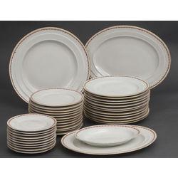 Porcelain dining set for 12 persons