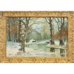 Ziemas diena / Agrais sniegs