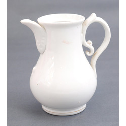 Porcelain teapot without lid