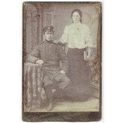 Kareivis ar sievieti