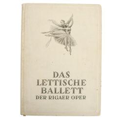 Grāmata - Das Lettische Ballett Der Rigaer Oper