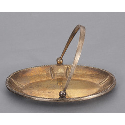Серебряная посуда - миска