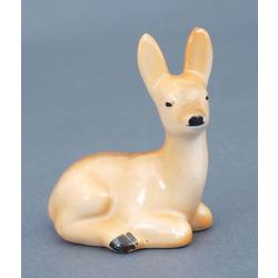Porcelain figurine Doe