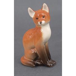 """Porcelain figure  """"Fox"""""""