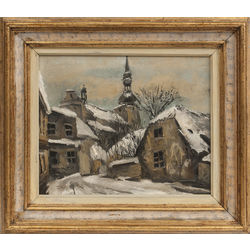 Старый город зимой