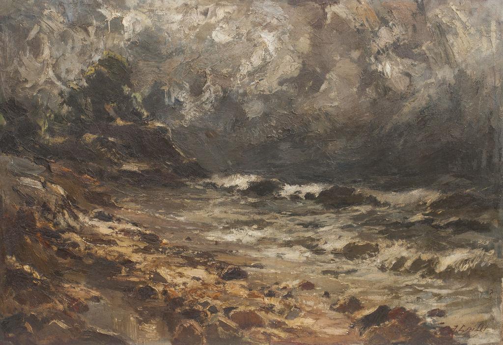 Vētrainā jūra