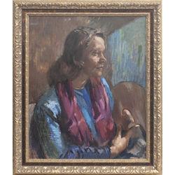 Lidijas Palepas-Ubānes portrets