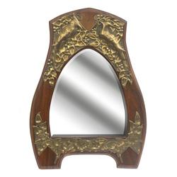 Jūgendstila spogulis