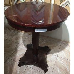 Biedermeier style mahogany table