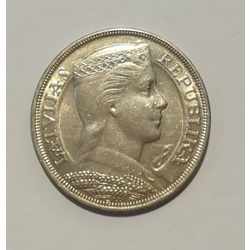 Silver five-lat coin - 1929