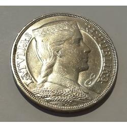 Sudraba pieclatnieka monēta - 1932