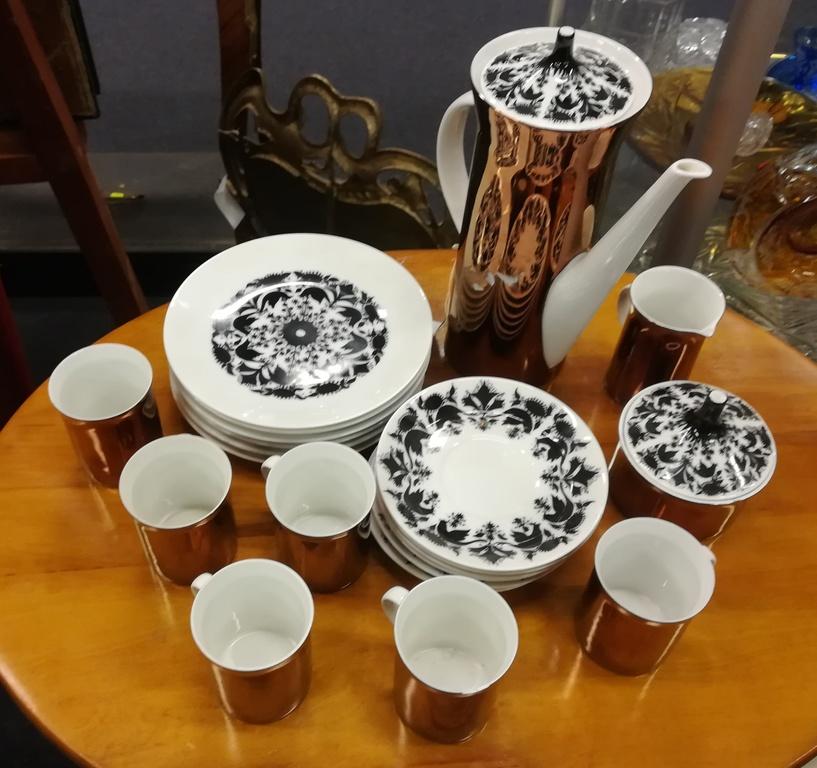 Porcelāna kafijas servīze