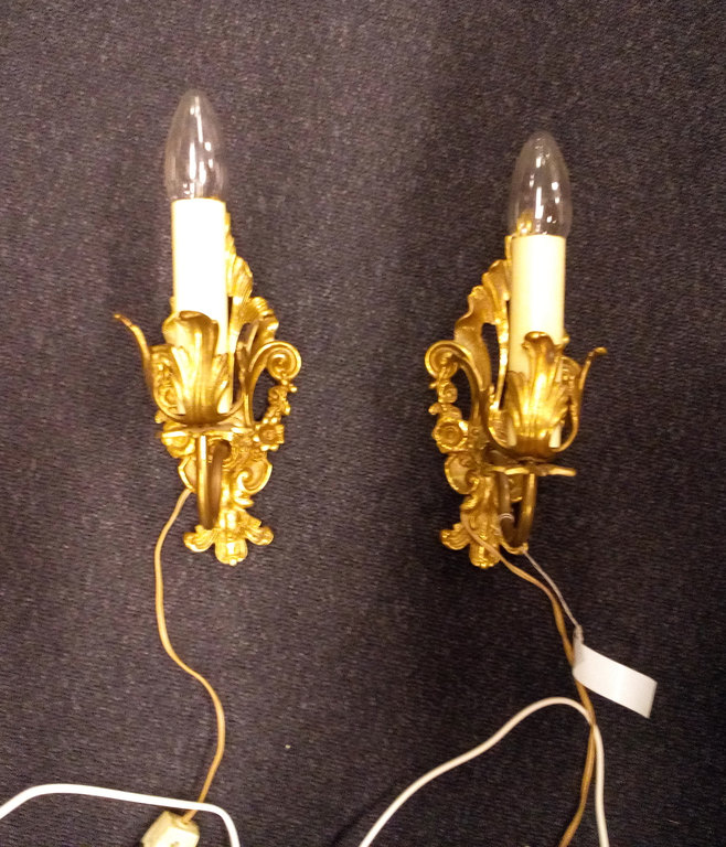 Sienas lampa (2 gab.)