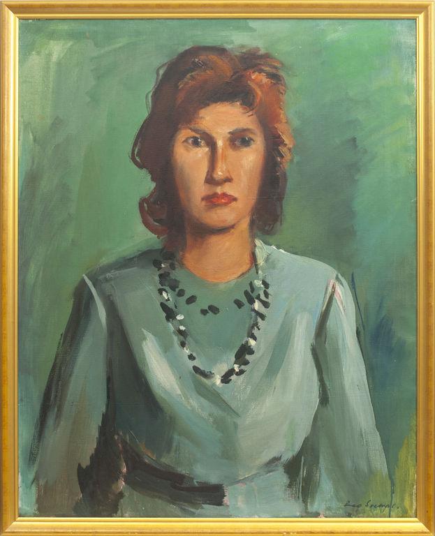 Mākslinieces Ērikas Romanes portrets
