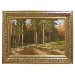 """Kopija pēc Ivana Šiškina gleznas """" Mastpriežu audze"""""""
