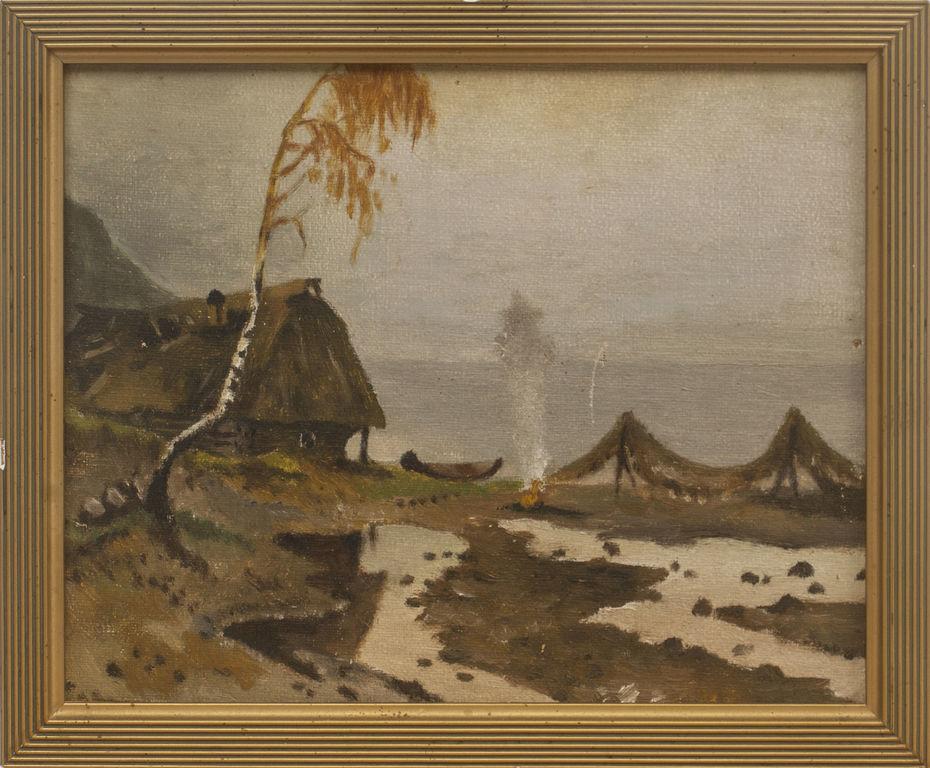Zvejnieku māja pie jūras