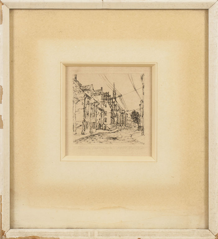 Old Town Skārņu Street