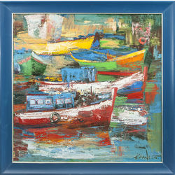 Portugāļu zvejnieku laivas