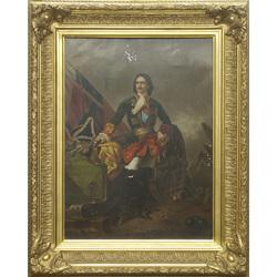 Krievijas imperatora Pētera I portrets