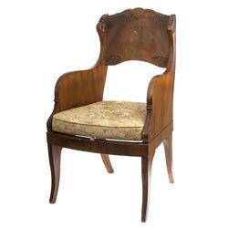 Bīdermeijera stila krēsls