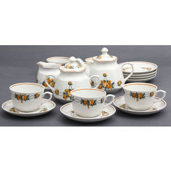 Porcelain tea set for 12 people in the original  box