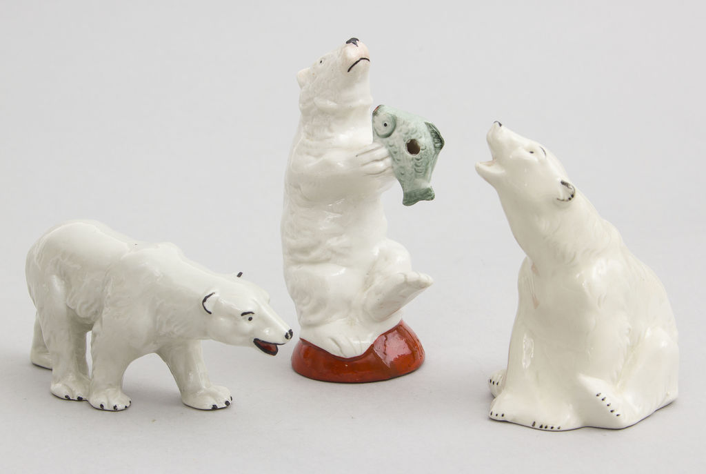 3 Porcelāna figūras