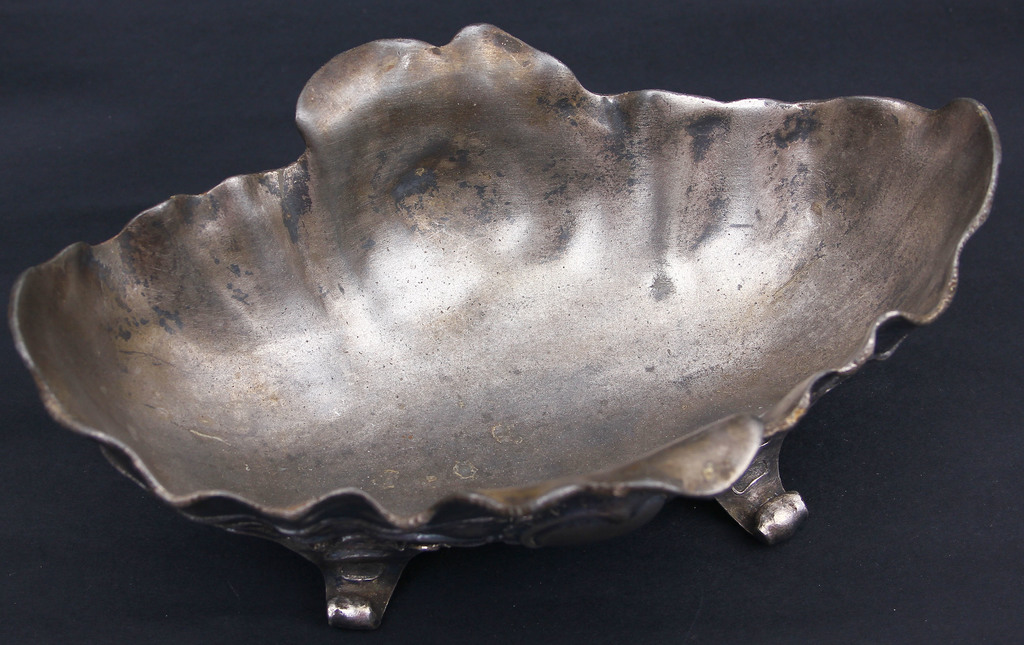 Silver-plated bowl