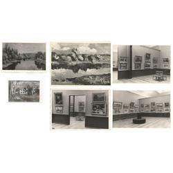 Fotogrāfiju kolekcija no Leo Svempa gleznu izstādēm (26 gab.)