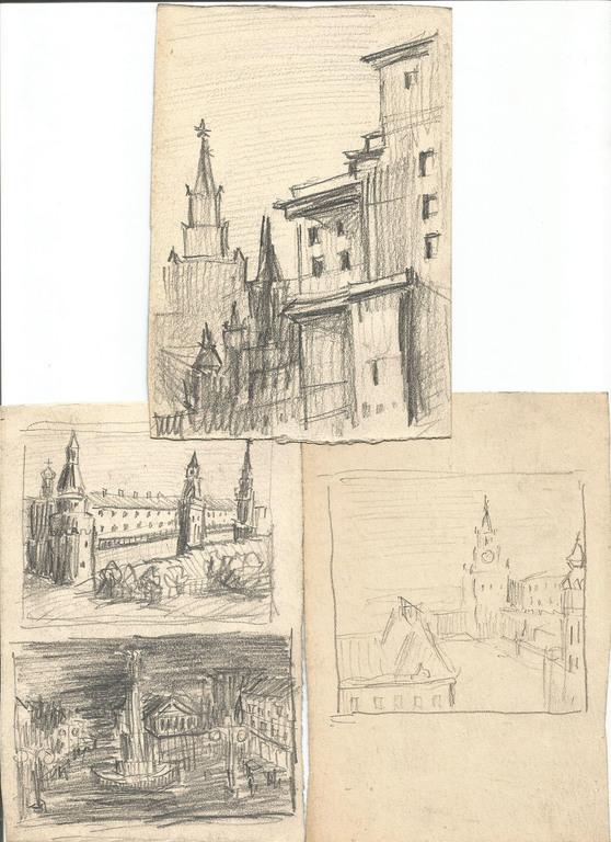 Leo Svempa zīmējumi (3 gab.)