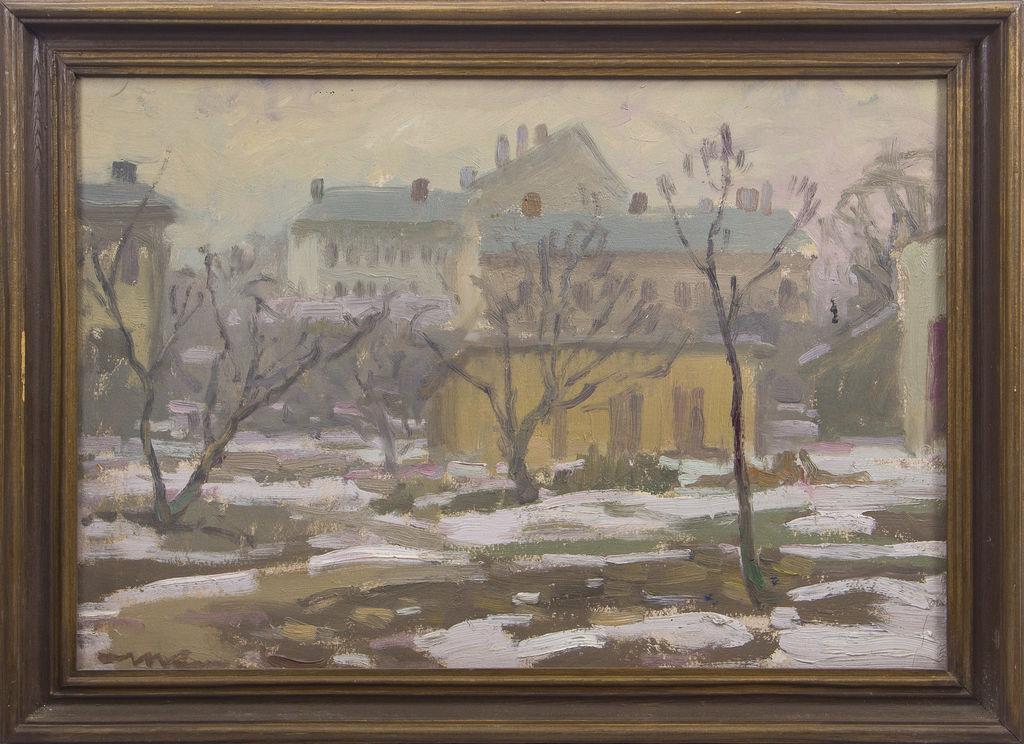 Pilsēta ziemā