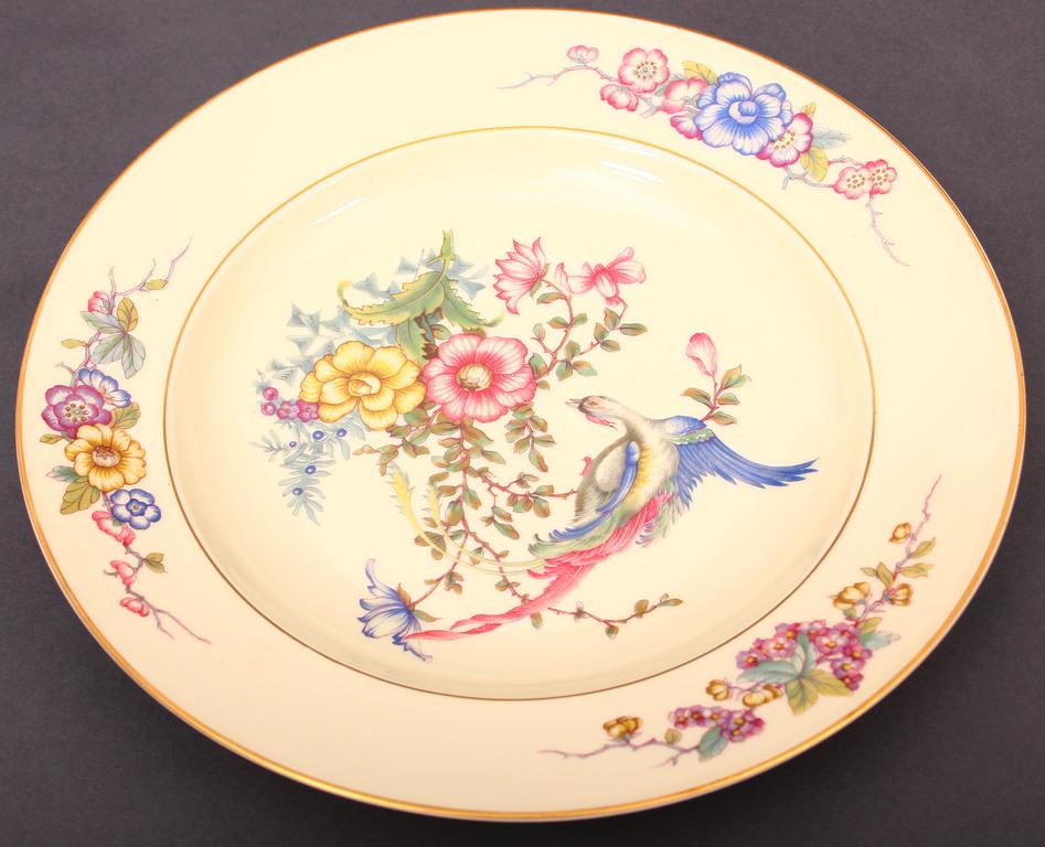 Porcelāna zupas šķīvis