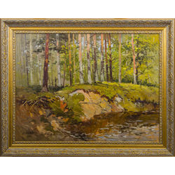 Priežu mežā