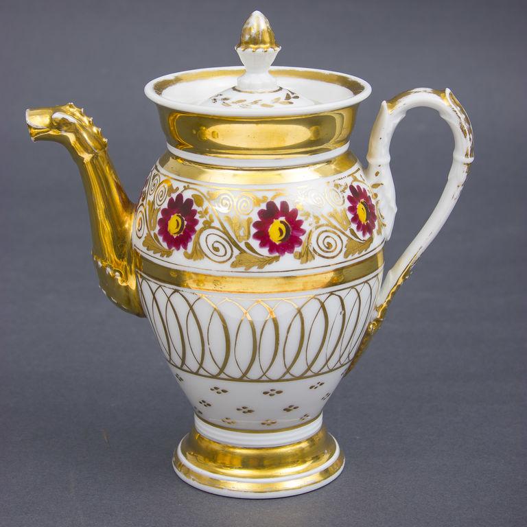 Porcelāna kafijas servīze 11 personām