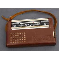 Kabatas radio ar ādas somiņu Etiud-2(этюд-2)
