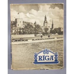 Album RĪGA with an appendix in Russian