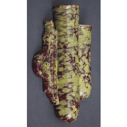Keramikas sienas vāze