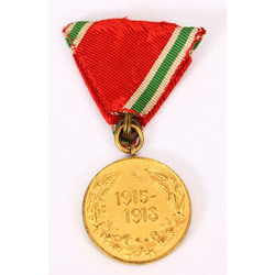 Bulgaria - Medal for participation in the European war (1915-1918)