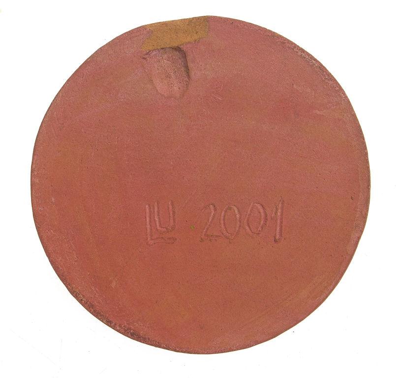 Keramikas galda dekors