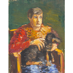Portrets ar suni