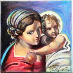 Meitene ar eņģeli