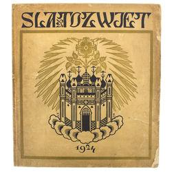 Slatozwjet zeitschrift für kunst und literatur