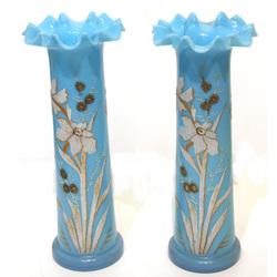 Стеклянные вазы в стиле модерн