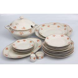 Porcelāna pusdienu servīze (nepilna)